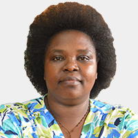 Dr. Euzobia M. Baine Mugisha, Ag. Director Gender Mainstreaming